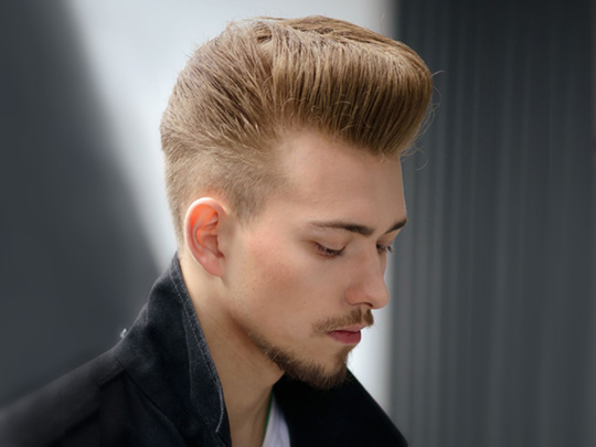The Modern Undercut Pompadour