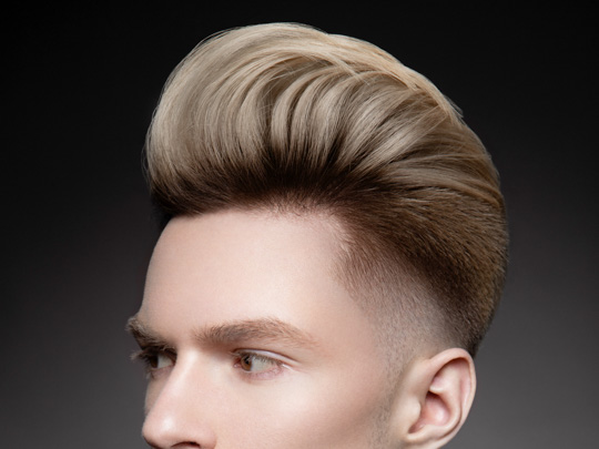 Full-Volume Pompadour