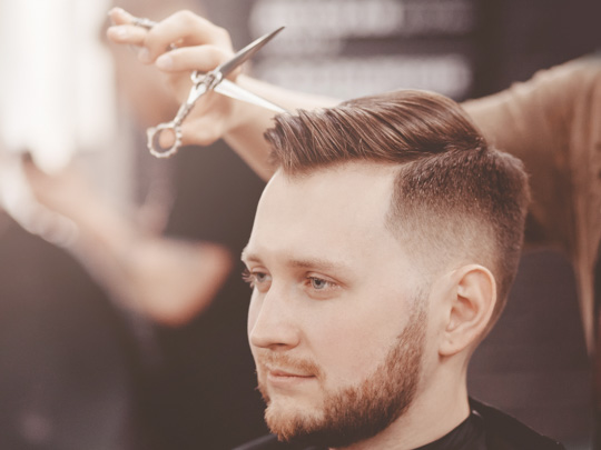 Fade Haircuts—Low and High Fades