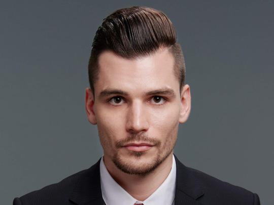 Textured Quiff Mohawk Haircut