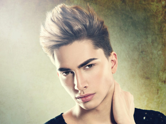 Undercut with Long Tousled Top