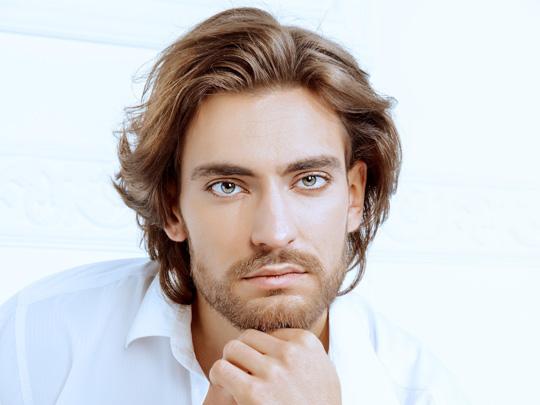 Long Hairstyle & Beard