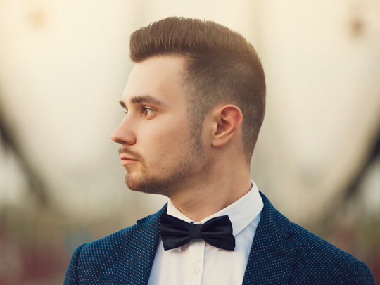 Flat Top with bowtie