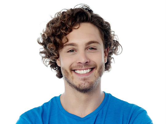 Long Curly or Wavy Hairstyle men