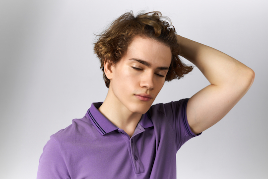 Thick Wavy Hair for men